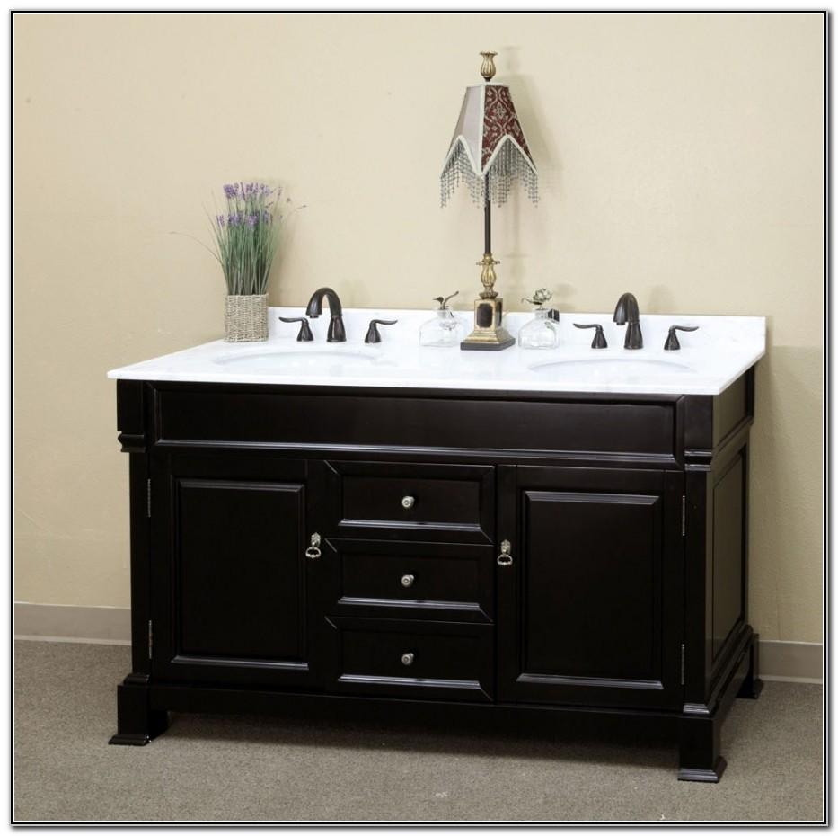 Bathroom Double Sink Vanities 60 Inch