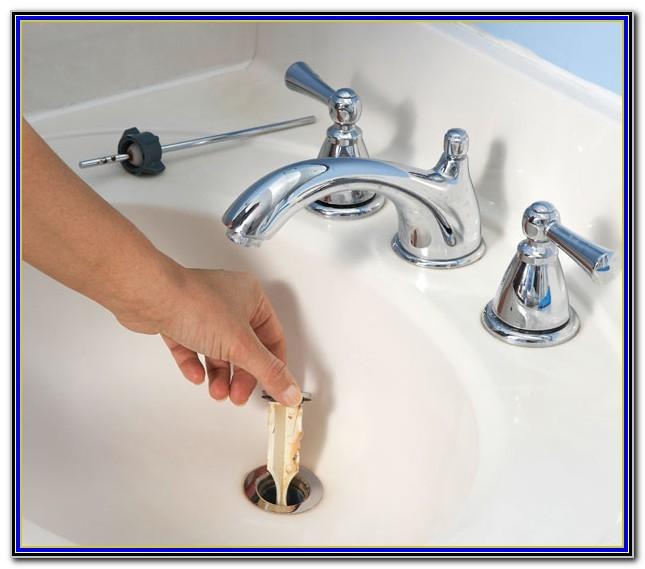 Bathroom Sink Drain Stopper Stuck Closed