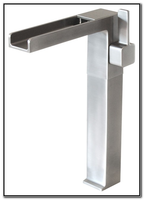Bathroom Waterfall Faucets For Vessel Sinks