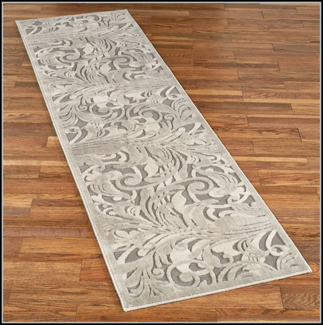Black And Grey Runner Rug