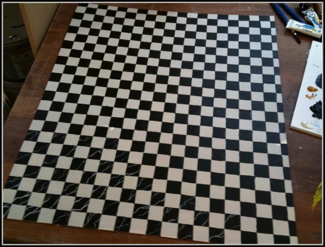 Black And White Checkered Rug Runner