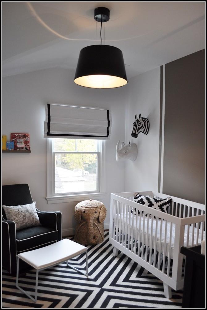 Black And White Striped Rug Nursery
