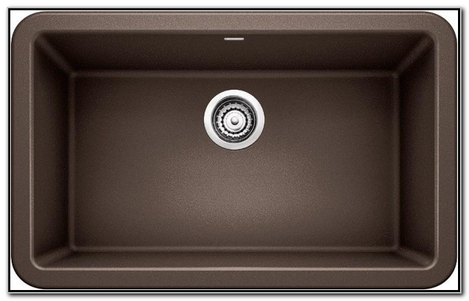 Blanco Cafe Brown Granite Sink