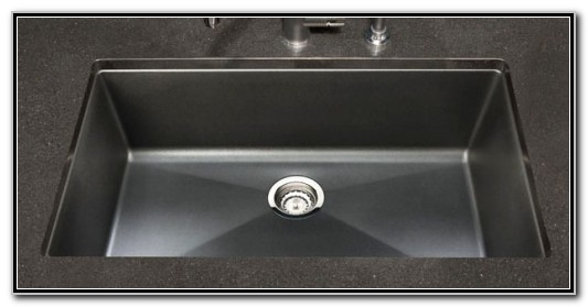 Blanco Single Bowl Undermount Kitchen Sink