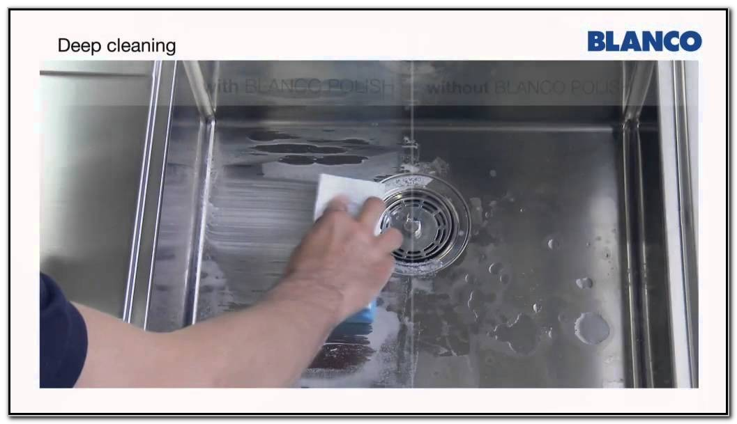 Blanco Stainless Steel Sink Care