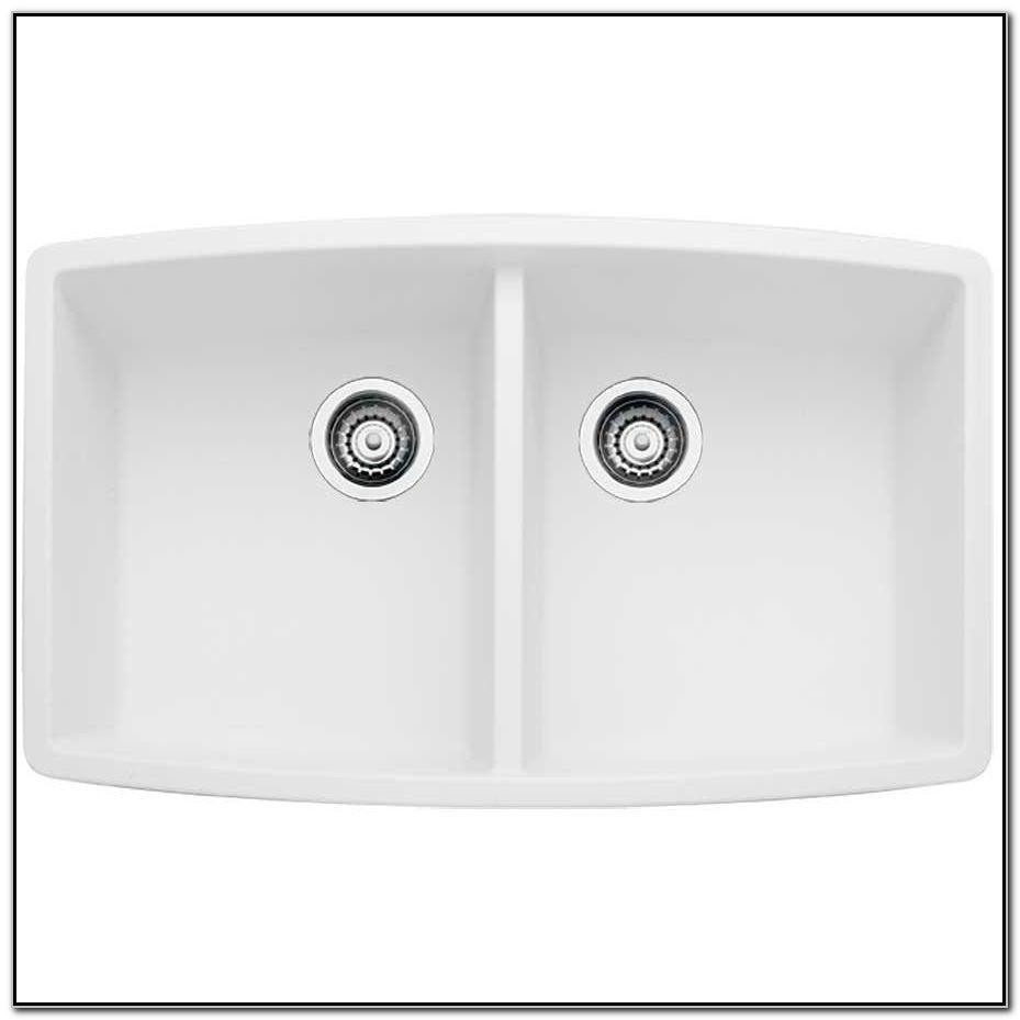 Blanco White Undermount Kitchen Sinks