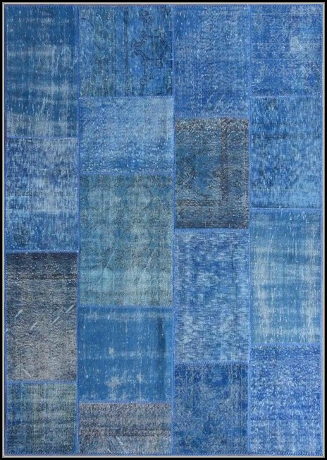 Blue Area Rugs 9x12
