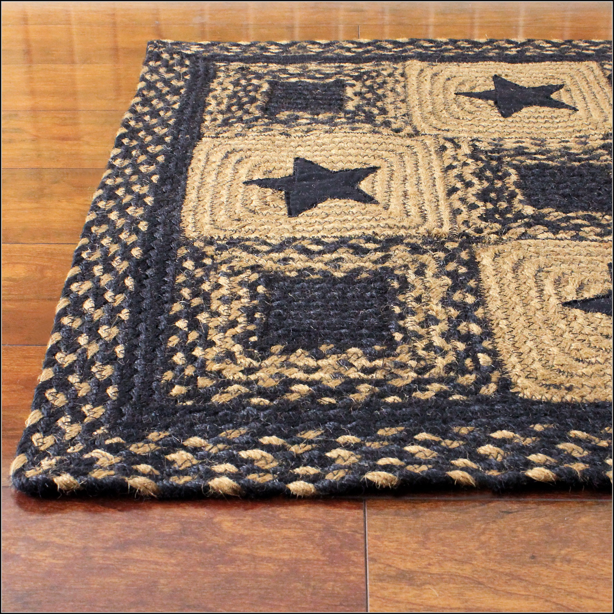 Braided Country Area Rugs