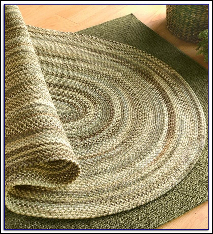 Braided Oval Rugs 3x5
