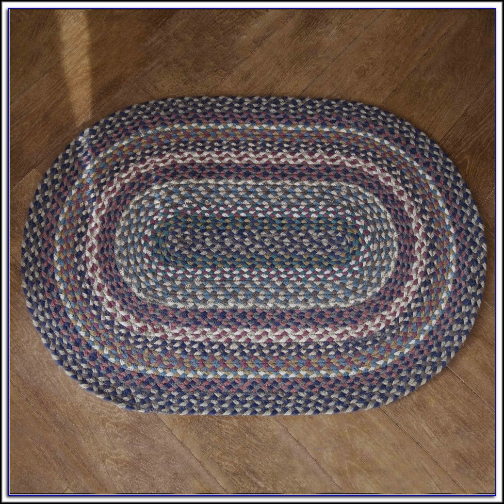 Braided Oval Rugs 5x8