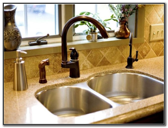 Bronze Kitchen Sink Faucets