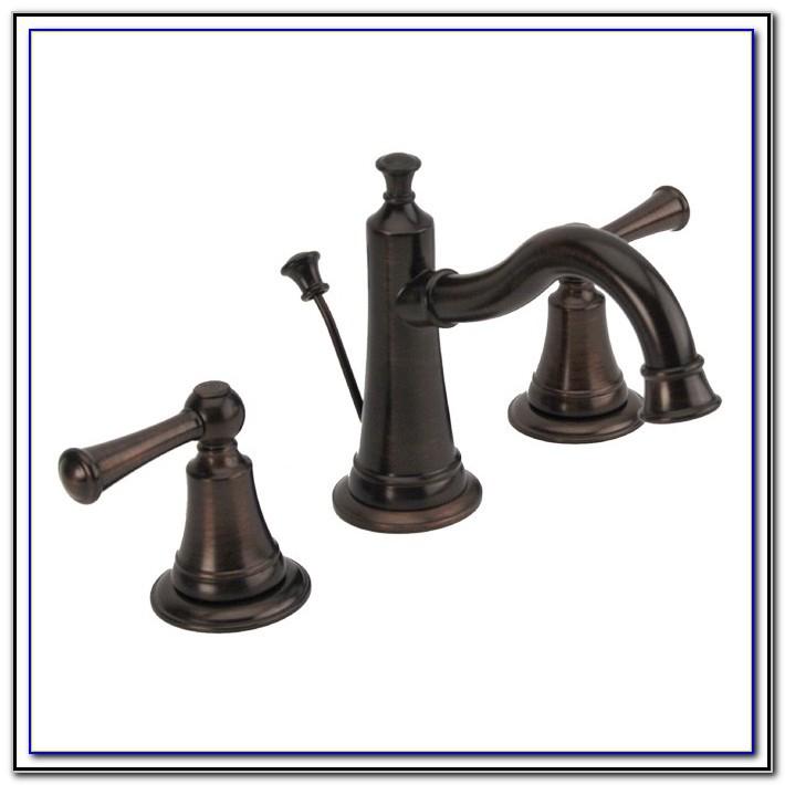 Brushed Bronze Bathroom Sink Faucets