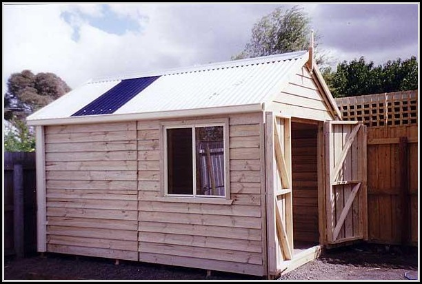 Build It Yourself Garden Sheds
