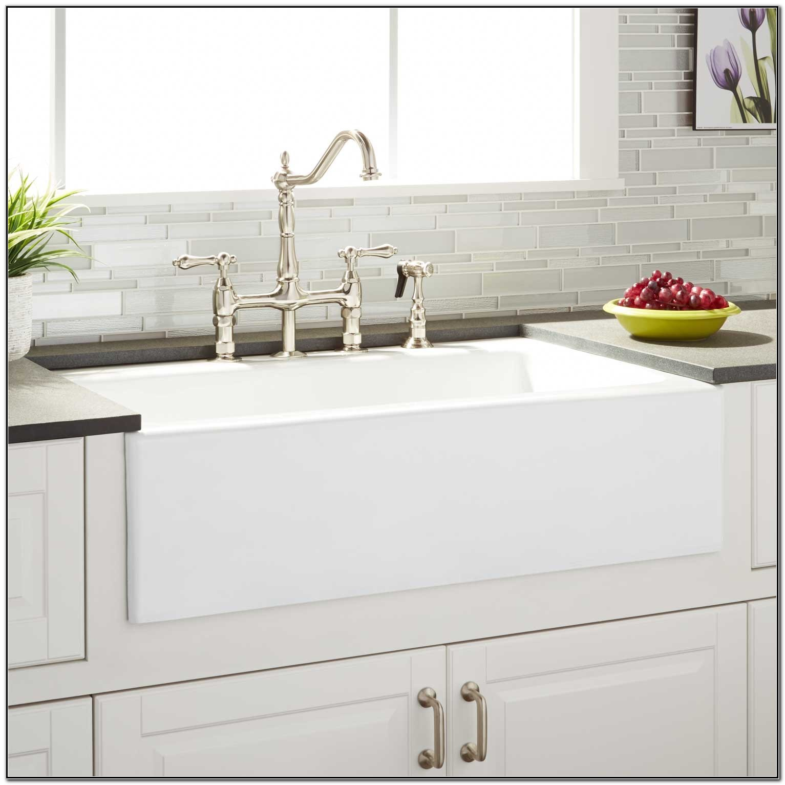 Cast Iron Farmhouse Sink 33