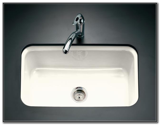 Cast Iron Kitchen Sinks Undermount