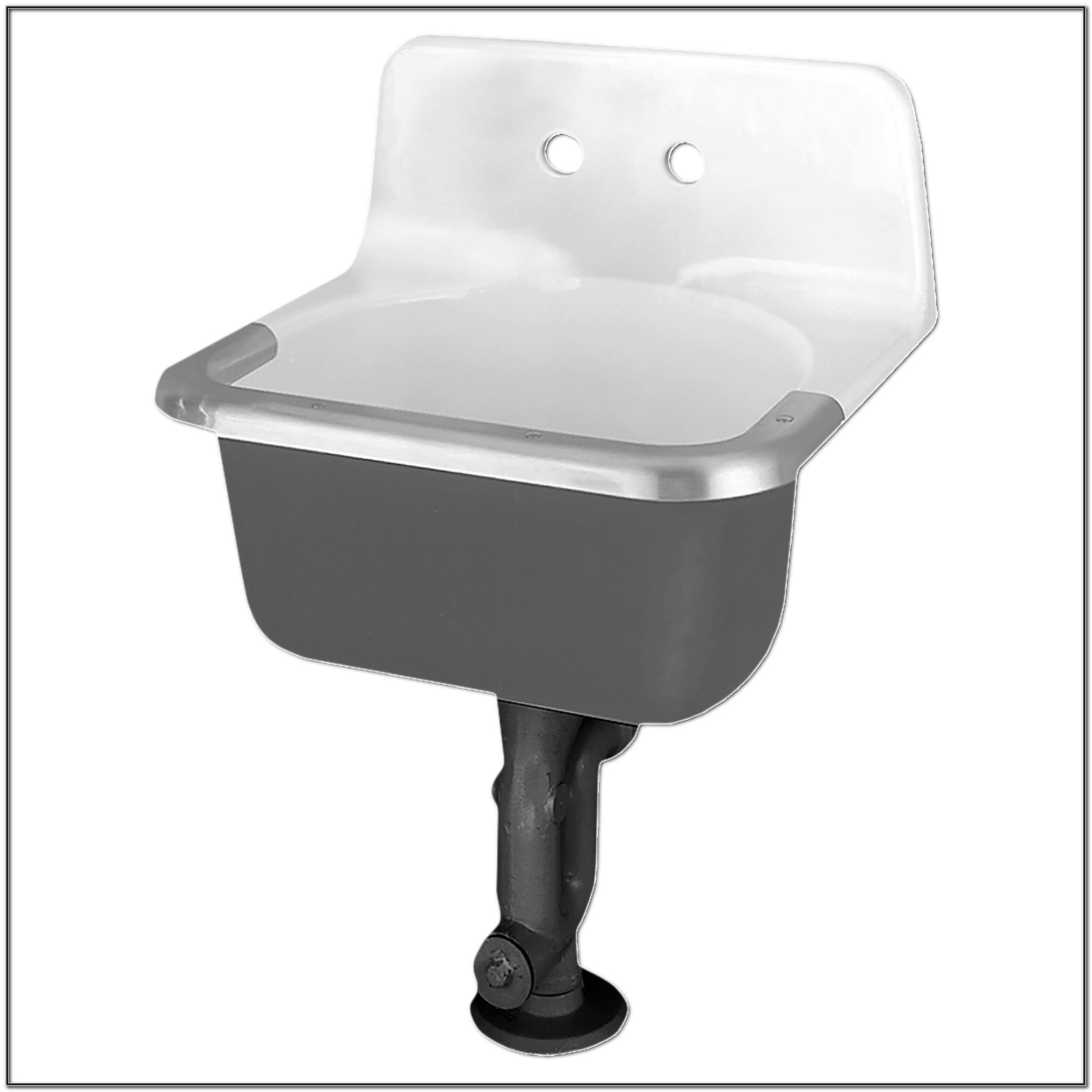 Cast Iron Service Sink
