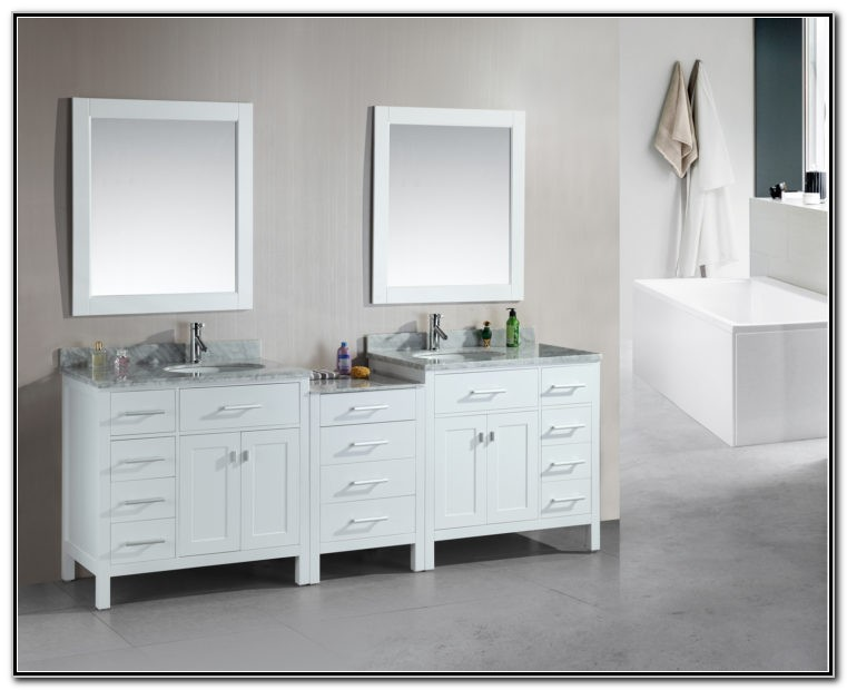 Cheap Double Bathroom Sink Cabinet