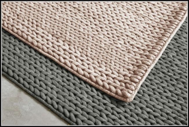 Chunky Braided Wool Rug Restoration Hardware