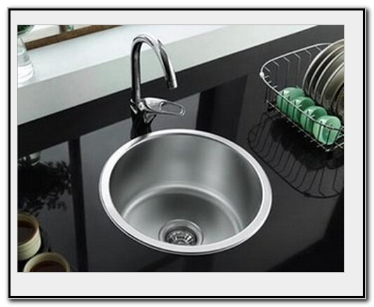 Circular Stainless Steel Sink