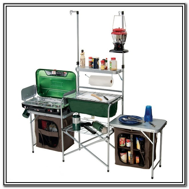 Coleman Camping Kitchen With Sink