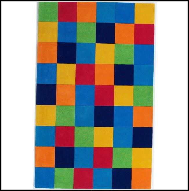 Color Block Area Rug