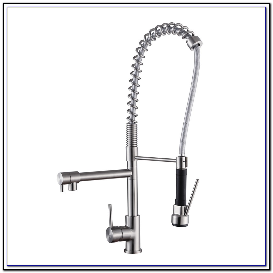 Commercial Kitchen Sink Faucet With Spray