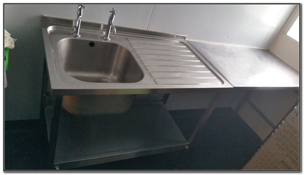 Commercial Prep Table With Sink