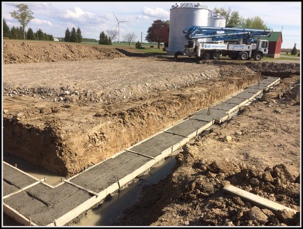 Concrete Footings For Shed