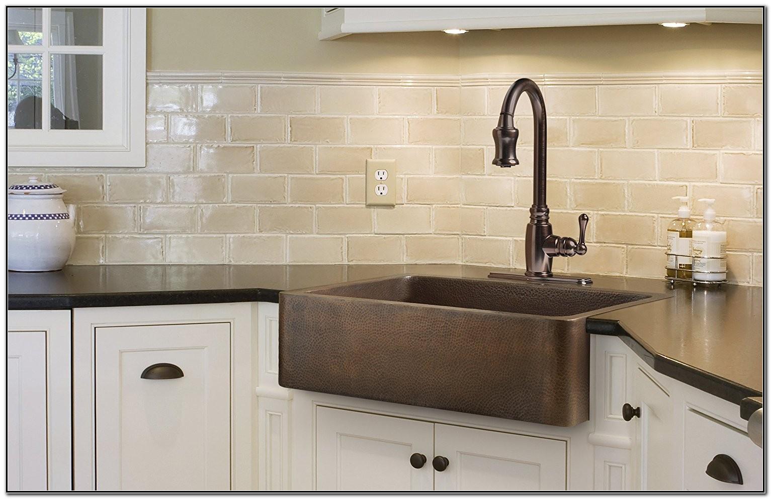 Copper Apron Kitchen Sink