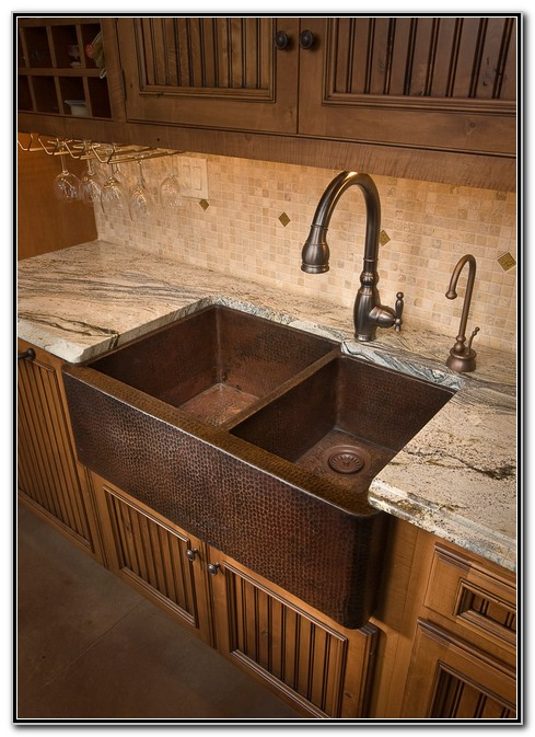 Copper Farmhouse Kitchen Sinks
