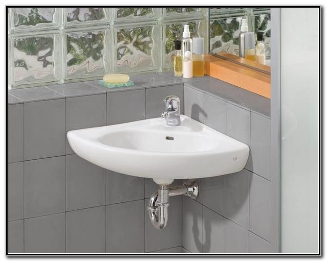 Corner Pedestal Sinks For Bathrooms