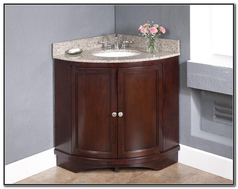 Corner Vanity With Sink