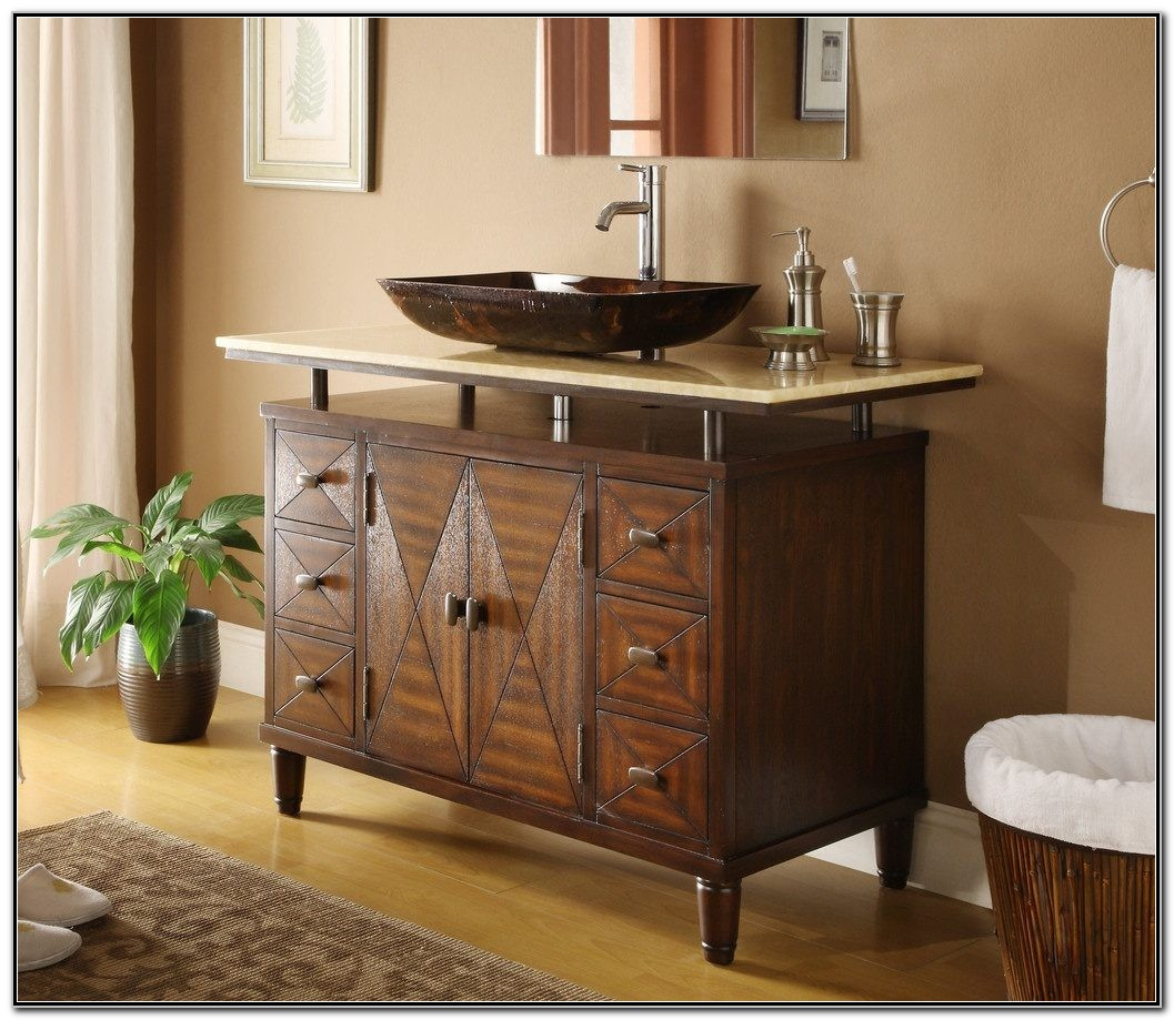 Corner Vessel Sinks For Bathrooms