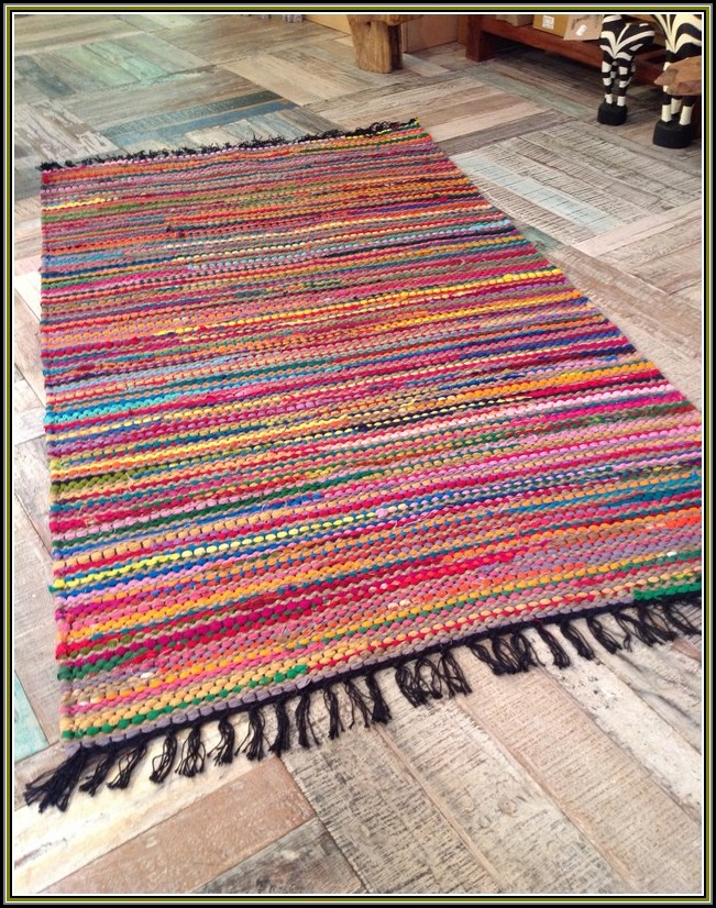 Cotton Rag Rugs Washable