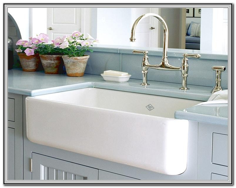 Country Kitchen Sinks With Drainboards