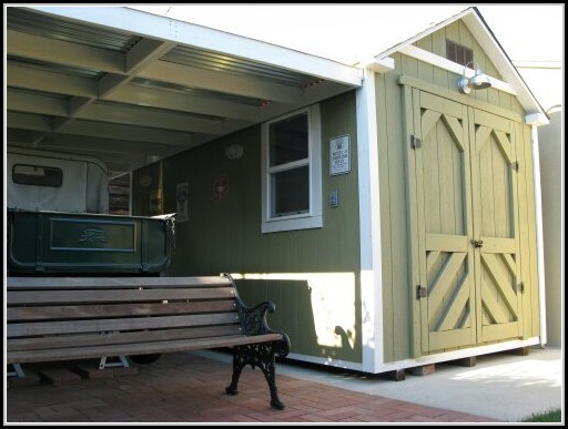 Custom Built Storage Sheds Los Angeles