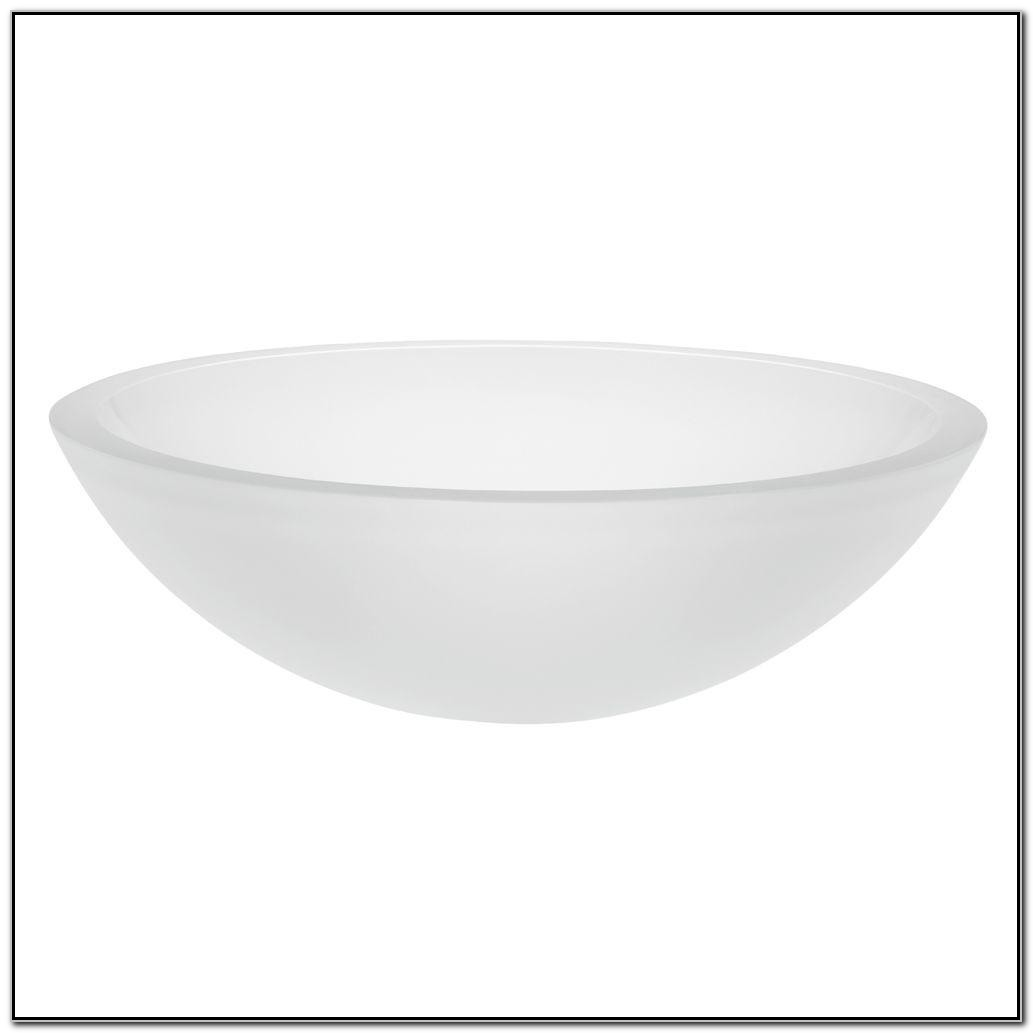 Decolav Frosted Glass Vessel Sink