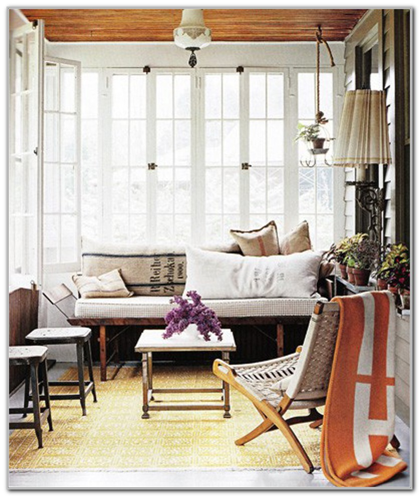 Decorating A Small Sunroom