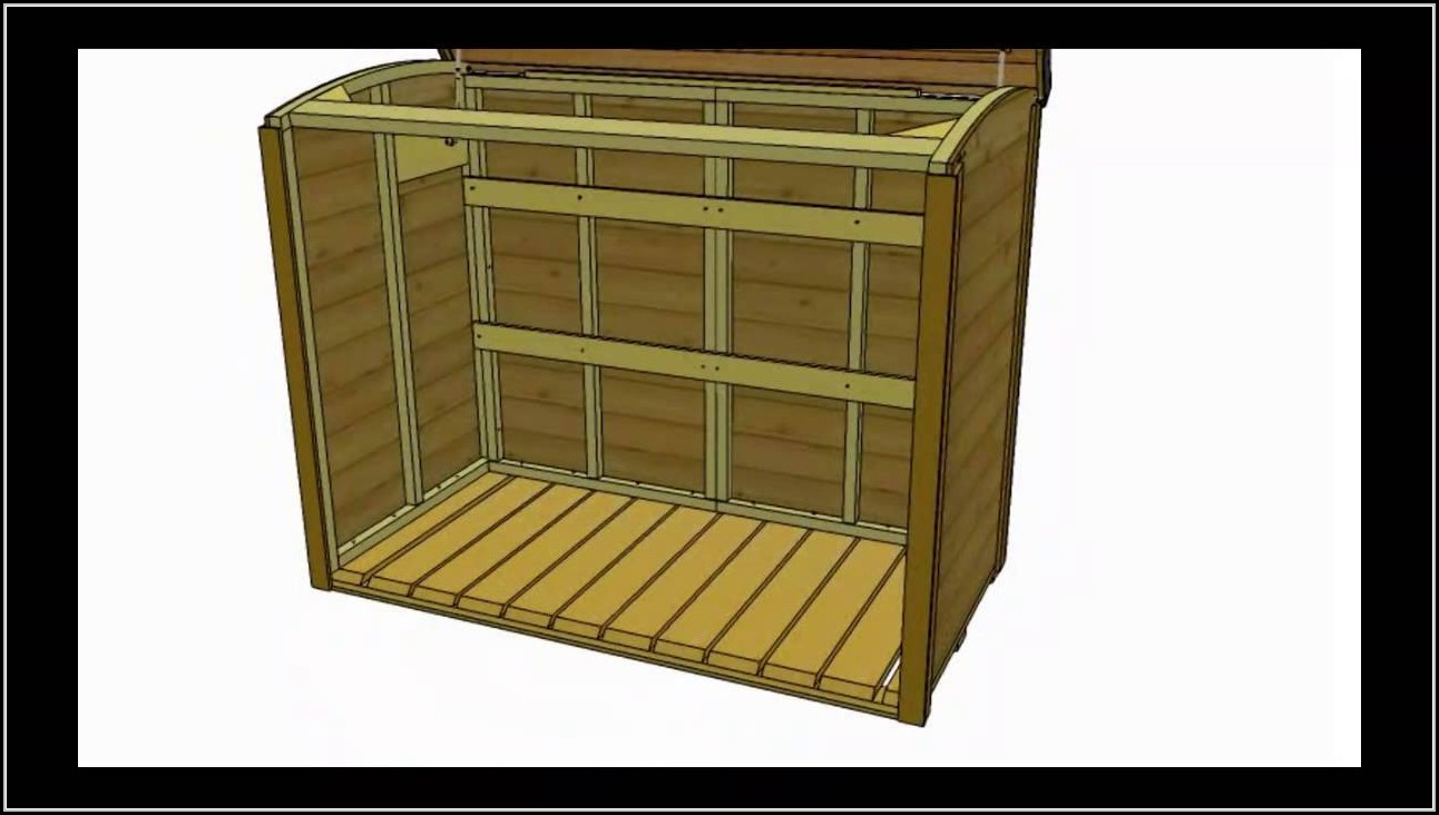 Diy Garbage Can Shed Plans
