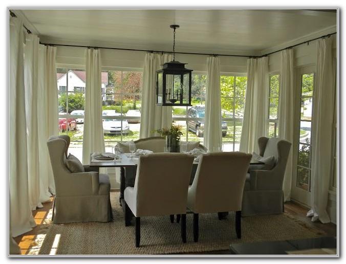 Diy Sunroom Window Treatments