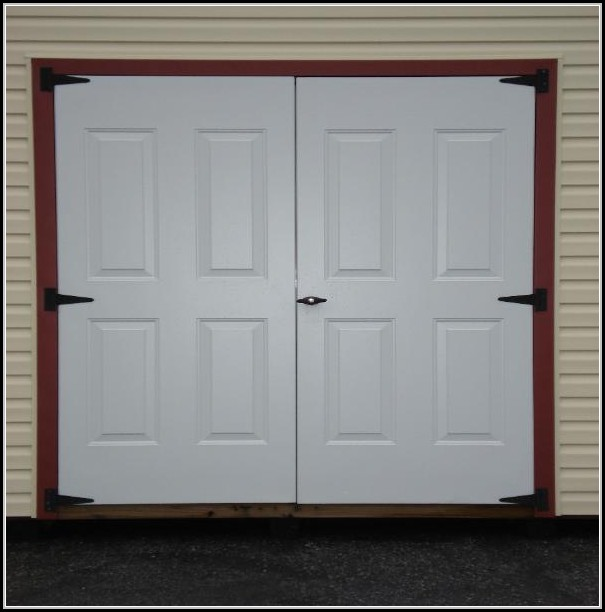 Double Entry Doors For Sheds
