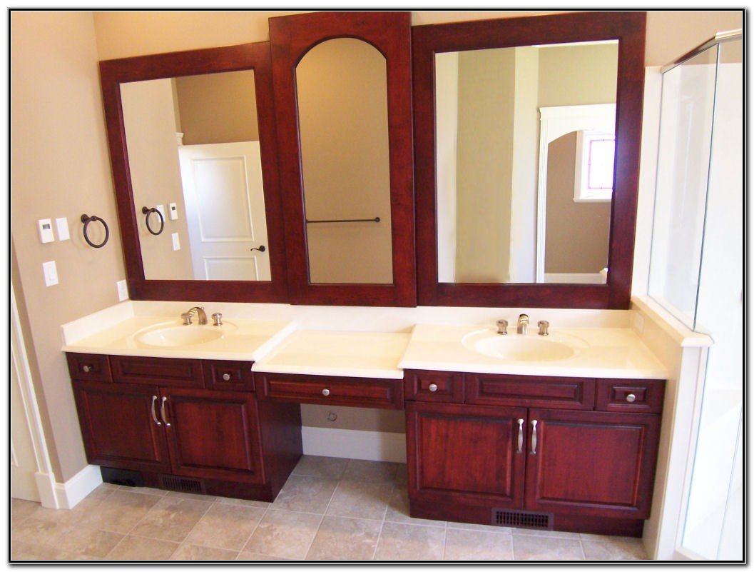 Double Sink Bathroom Cabinet Ideas
