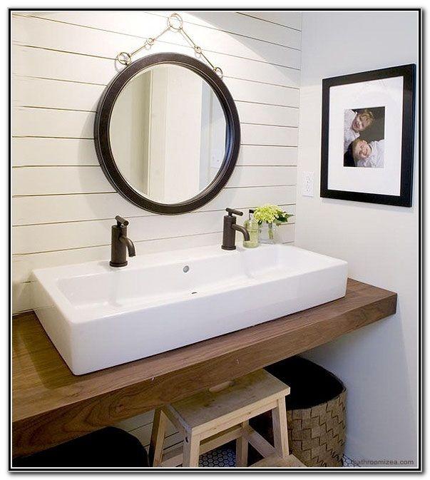 Double Sink Bathroom Ideas Pinterest
