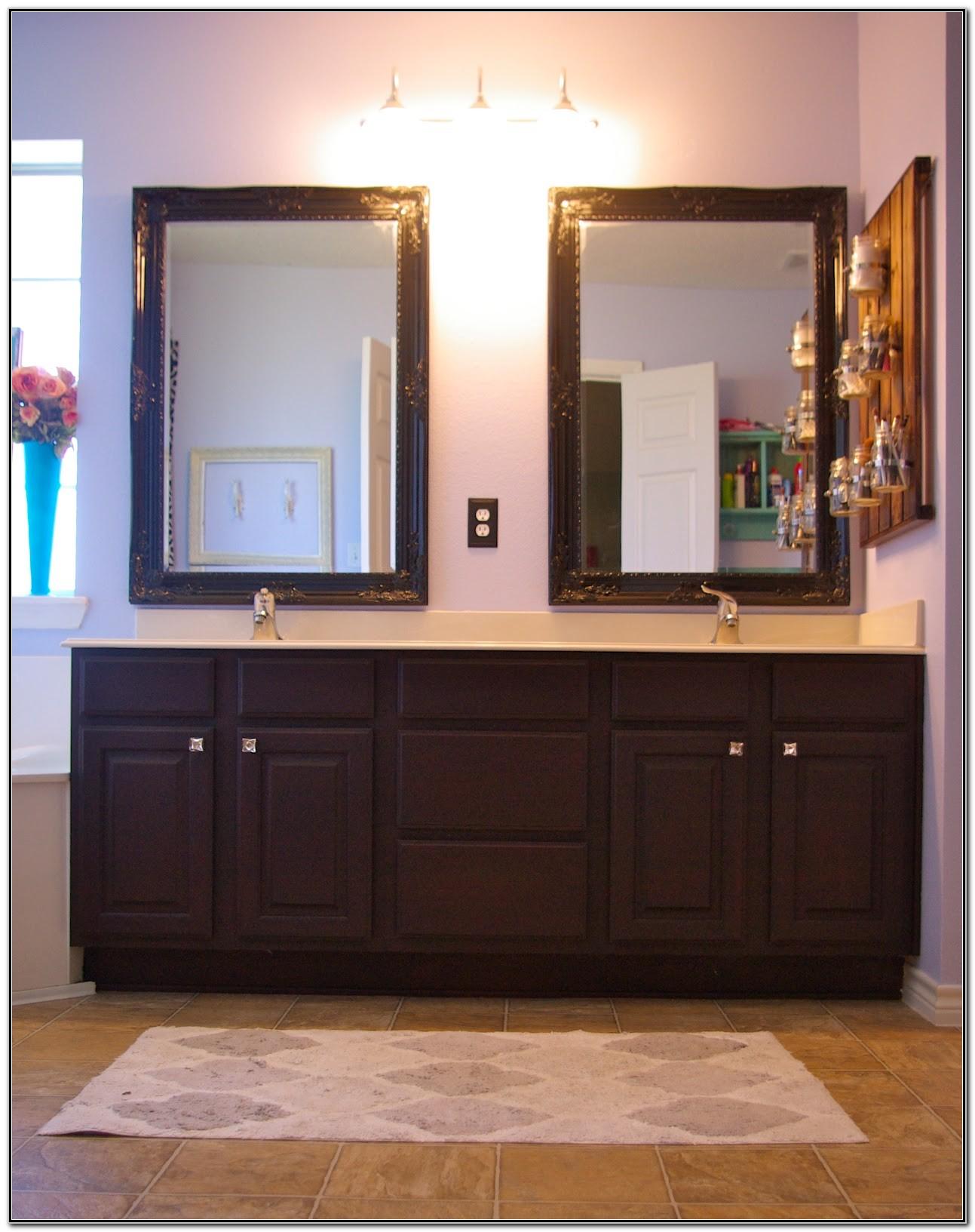 Double Sink Bathroom Mirror Ideas
