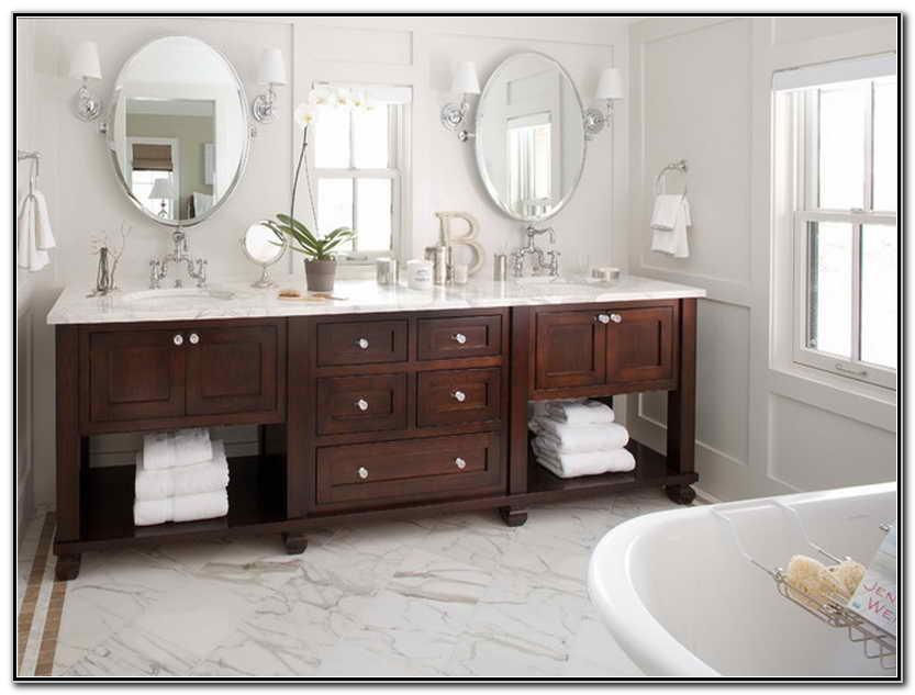 Double Sink Ideas Bathroom Vanities
