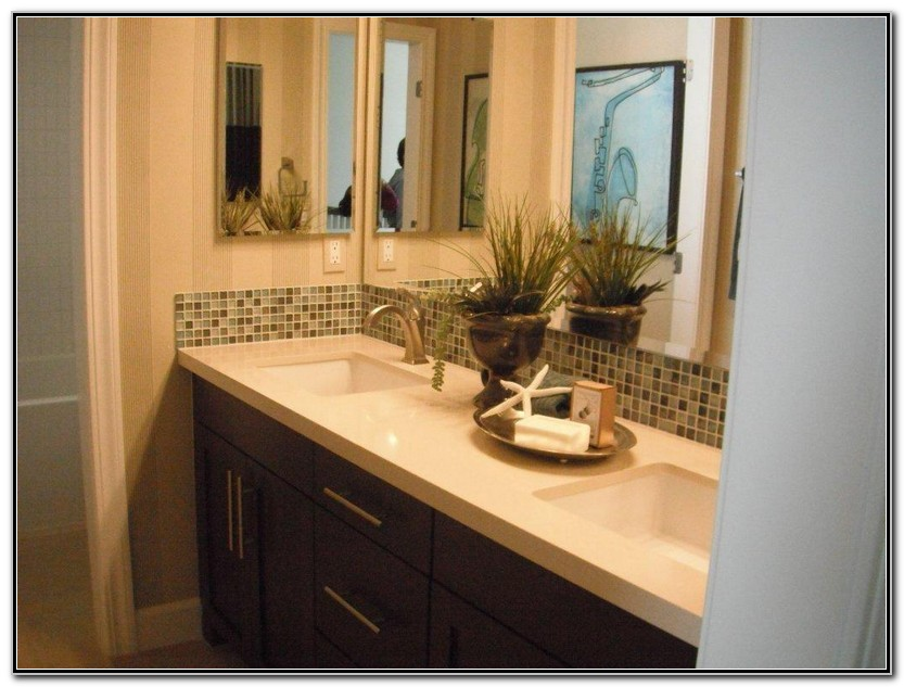 Double Sink Vanity Decorating Ideas