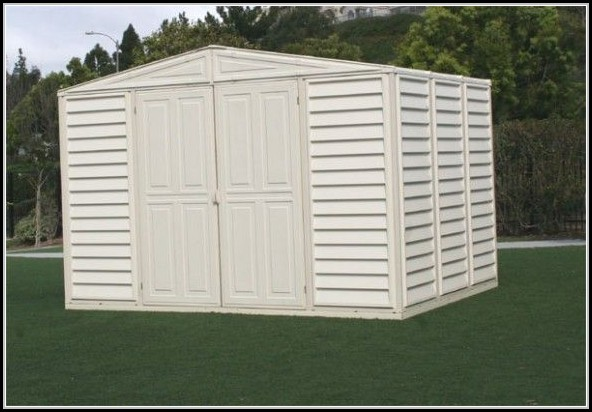 Duramax Woodbridge Vinyl Storage Shed