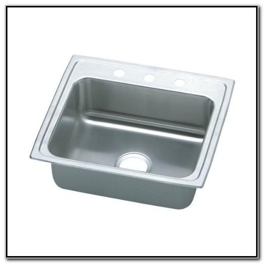 Elkay Single Basin Stainless Steel Kitchen Sink