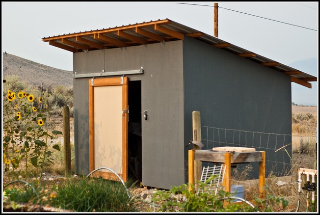 Exterior Sliding Doors For Sheds