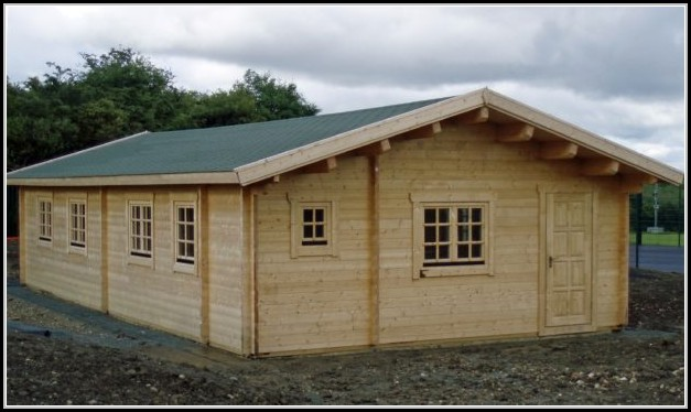Extra Large Wooden Storage Sheds